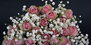 bouquet mariage rose blanche