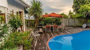 Une piscine à la maison